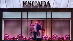 ESCADA Displays by Shop Studios