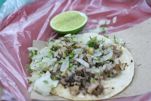 BTK Cabeza d'res Taco (beef head)