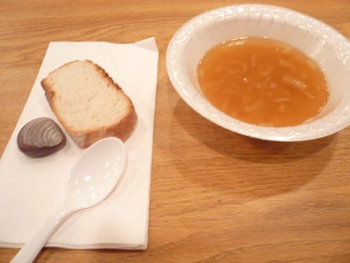 Bean soup dinner