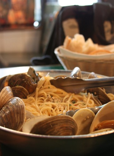 Clam linguini at The Daily Catch