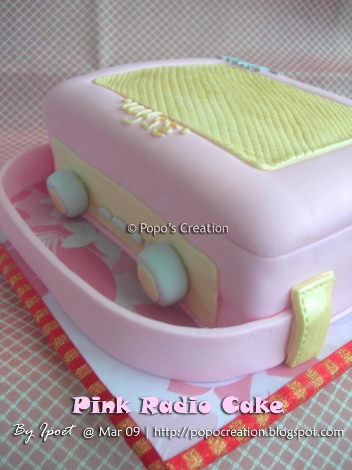 Pink Radio Cake