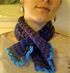 mini noro scarf, FO