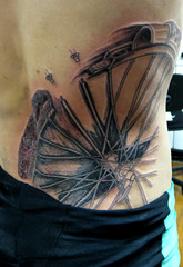 tatuagem bicycle blueprint (micaeltattoo) Tags: tattoo ink needle tatoo tinta moko pele tatuaggio agulha tatuagem tatau tatouage irezumi micael epiderme derme micaeltattoo micaeltatoo
