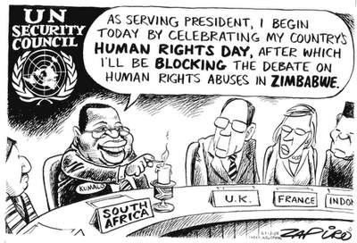 UNdemocracy and human rights