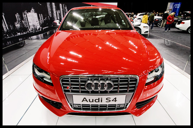 red canada vancouver bc britishcolumbia vibrant vivid audi 2009 s4 bcplace zd vancouverinternationalautoshow olympuse3 918mm