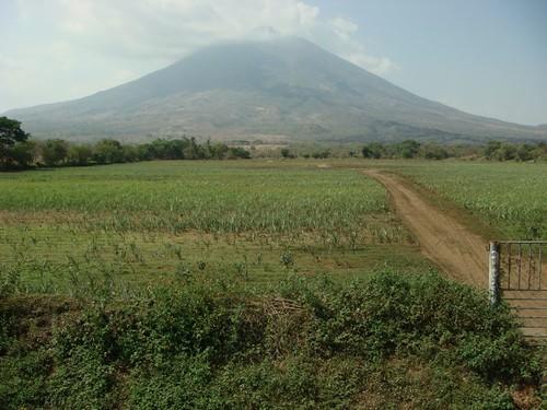 Volcan San Miguel (2.130m), El Salvador.