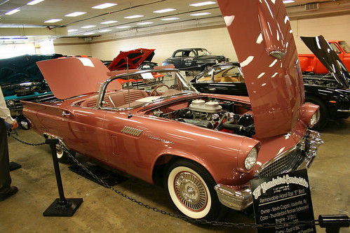 Hunter's Car Show 2009 57 Tbird E Bird