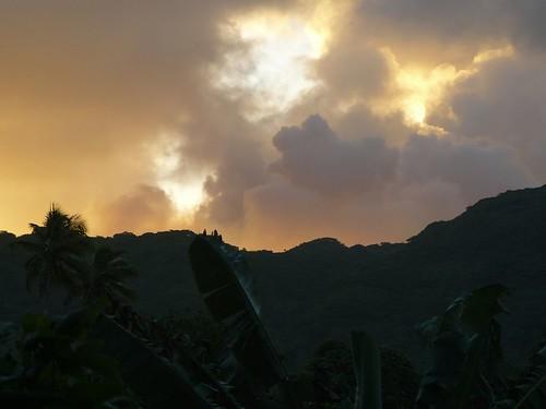 Vanuatu : Ile de Tanna #35 : coucher de soleil #2