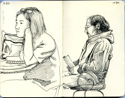 bozeman sketchcrawl: wild joe's coffee