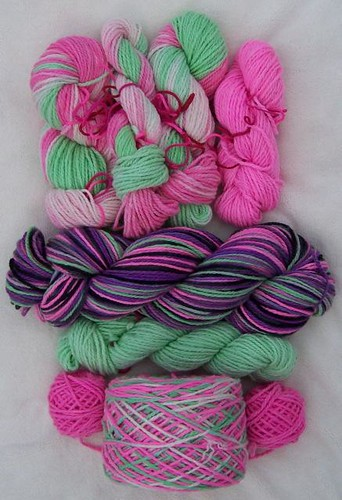 This weeks yarns