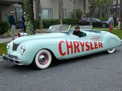 1941 Chrysler Newport Concept Car at Amelia Island 2009 (gswetsky) Tags: newport chrysler concept pacecar concours ameliaisland lebaron