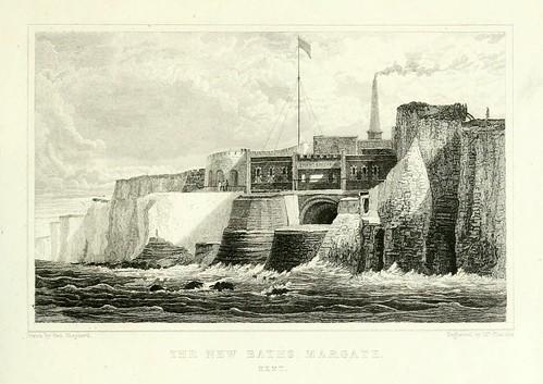 004- Los nuevos baños Margate- Kent 1829