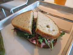 noon midtown -lamb sandwich