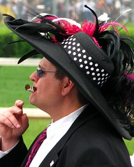 Kentucky Derby 2009 - a little too much fun (circulating) Tags: horse man hat track kentucky ky racing louisville 135 races paducah churchilldowns thoroughbred kentuckyderby derbyday firsthand wkyq gotolouisvillecom thisisky