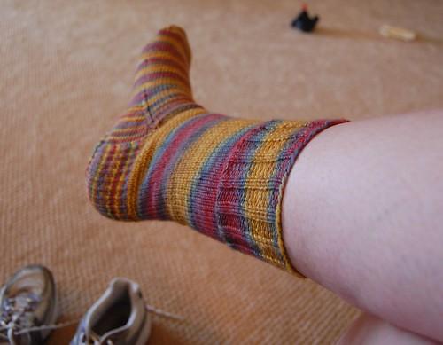 FO: Cockamamie sock