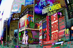 On Broadway (Ran Dell's) Tags: new york city nyc ny square broadway times on