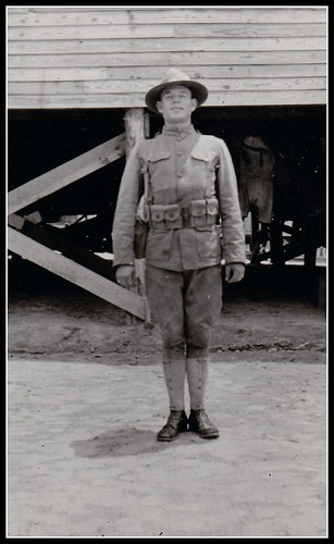 World War I American Soldier in Uniform
