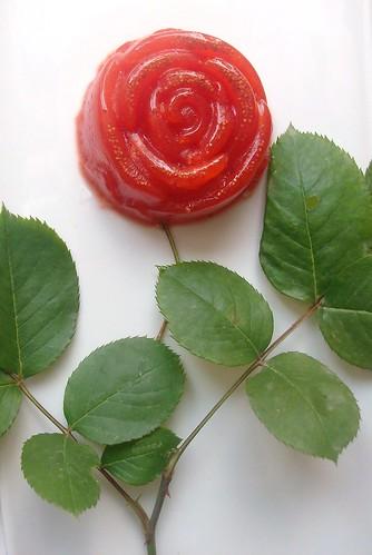 Roselline rosso fragola allo zenzero