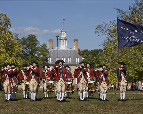 Fife and drum performs - Photo provided by Colonial Williamsburg Foundation