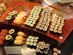 London 2009- Sushi Harrods