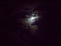 Moon (DragonSEL) Tags: moon night clouds dark full