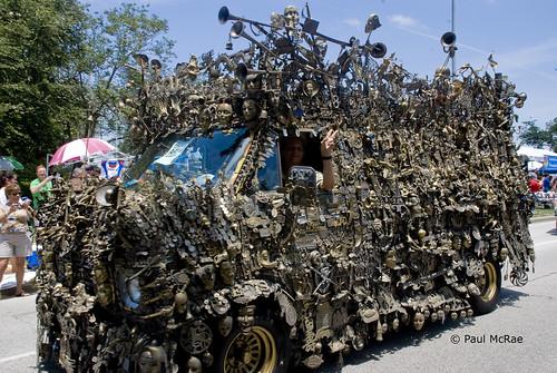 Brass Van in the Parade by Delta Niner.