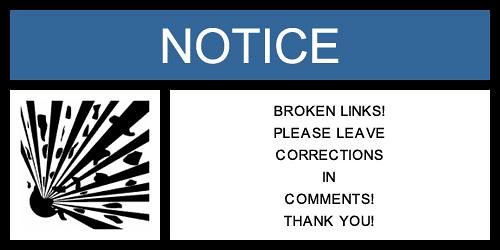 Warning_Broken Links