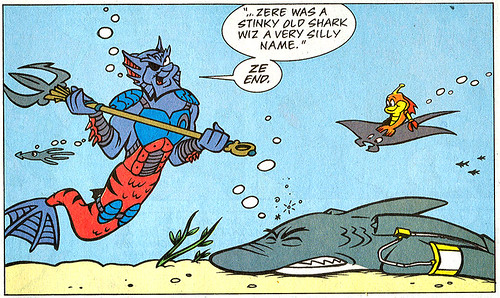Mighty Mutanimals #7  (( 1993 ))  :: ONCE UPON ZE TIME .. ..