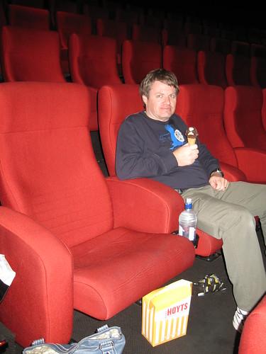At the movies - Star Trek