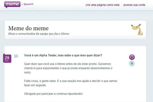 Meme do Meme  - Yahoo! Meme