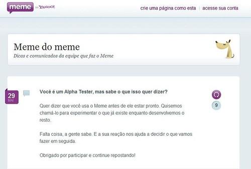 Meme do Meme  - Yahoo! Meme