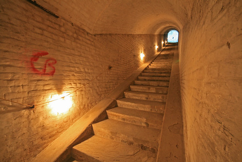 Drop Redoubt: Urban Explorers have left their mark