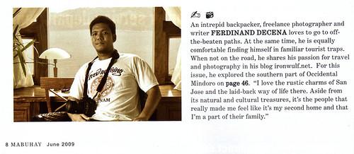 Mabuhay Magazine Contributor Box