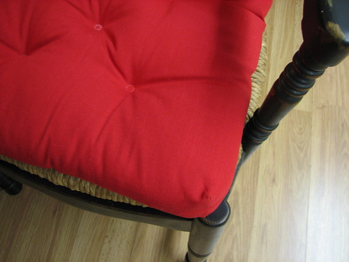 cushions for the dining room chairs