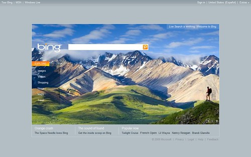 Microsoft lanza  Bing.com