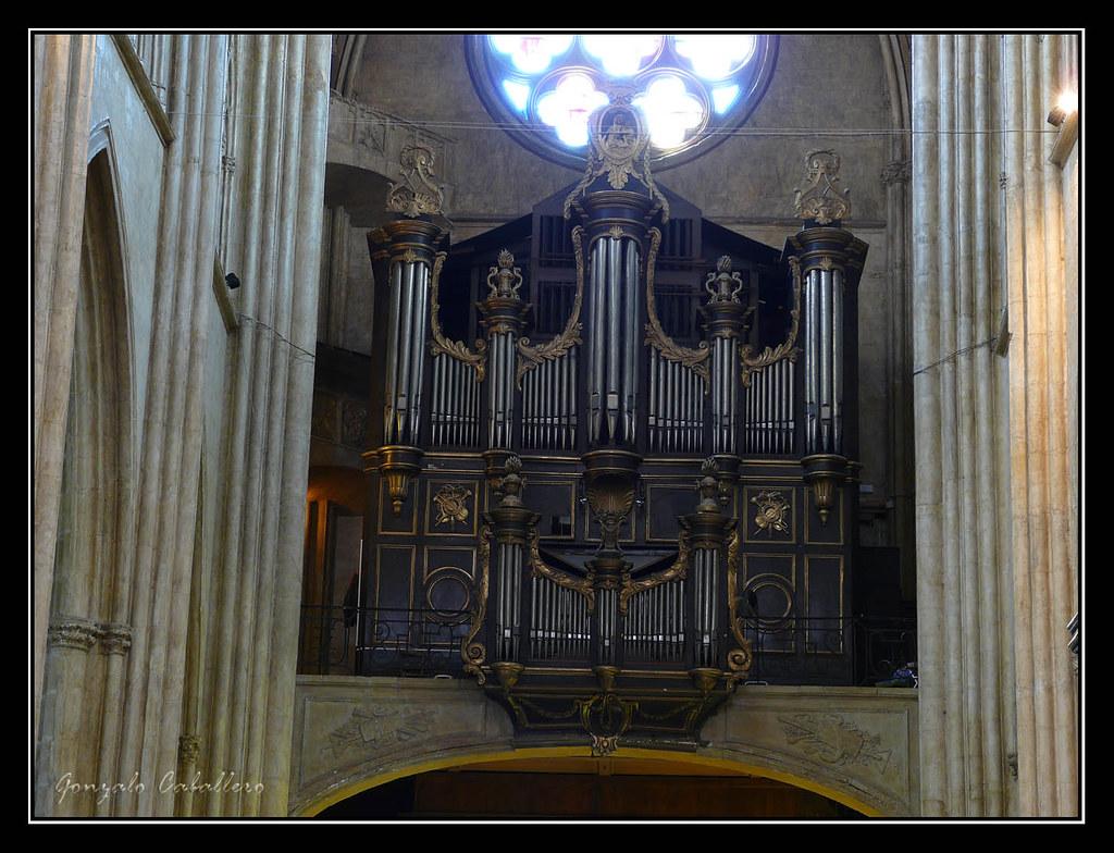 Bayona. Catedral. Órgano