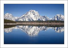 Mt. Moran (WeiterWinkel) Tags: usa reflection wyoming tetons spiegelung grandtetonnationalpark jacksonlake mtmoran 5dmkii mmkreflekt