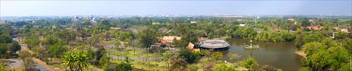 Moang Boran aerial view