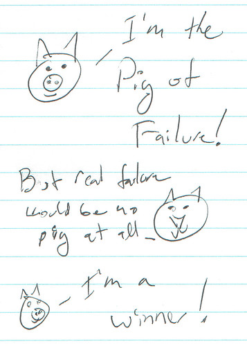 366 Cartoons - 123 - Pig of Failure
