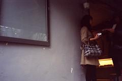 (Kerb ) Tags: film rainyday taiwan dora nancy taipei persons kerb konicac35 kodakgold200   konicac35ef wolloomooloo 24 konicac35film010 1161  kerbwang