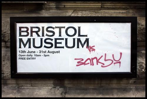 Banksy exhibition, Bristol