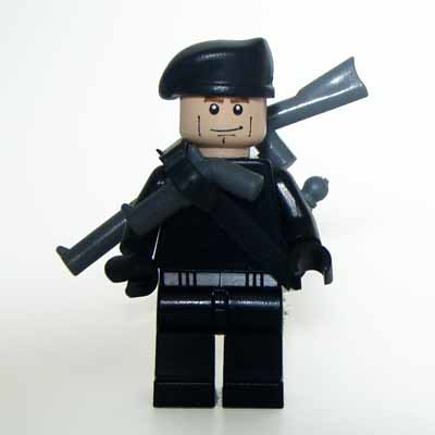 Commando custom minifig