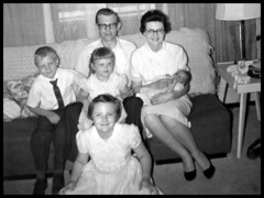 1960 Apr 30 - The Family with baby Ann