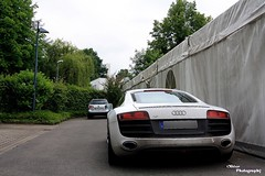 Audi R8 V10 (OL_PHOTOGRAPHY) Tags: cars love june canon germany deutschland eos ol fuck 10 great fast super it tent dirty tokina porn toll audi 2009 v10 megapixel mega supercars r8 ostwestfalen detmold weitwinkel lippe carspotting eor 1000d stegelmann olemann87 wwwautospotterde carparrazi