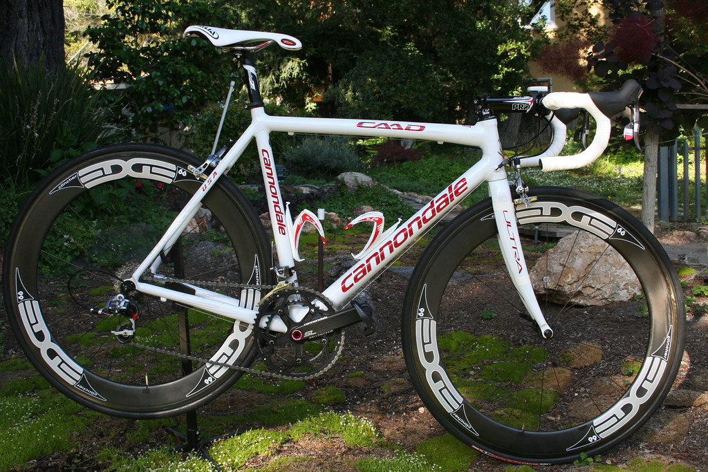 White Cannondales! 7bf343673
