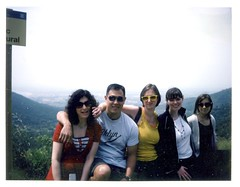Road Trip: Costa Brava (thirtyoneteeth) Tags: barcelona alexis polaroid spain leah steph roadtrip 350 marty costabrava grammar flybutter polaroid350 fujifp100c