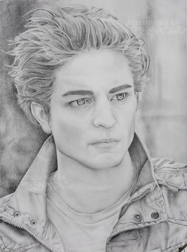 Pencil drawing of Edward
