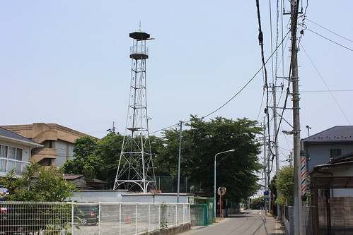 東新井の火の見櫓