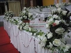 Meja makan pengantin wedding station (Wedding Station) Tags: deco makan pengantin meja