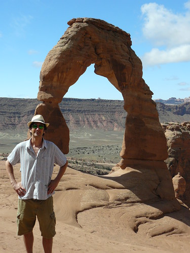 Mike and the delicate arch